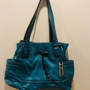 NWOT Tignanello Leather Purse